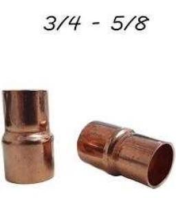 LUVA REDUTORA DE COBRE  3/4    X 5/8    SOLDA LUVA REDUTORA DE COBRE  3/4    X 5/8    SOLDA