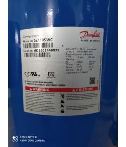 COMP DANFOSS SCR 10 TR SZ 110-3VM  220V TRI GAS R22 R407C/R134A/R404A/R507C COMPRESSOR DANFOSS SCROLL 10 TR SZ110-3VM 220/3 GAS R407C/R134A/R404A/R507C