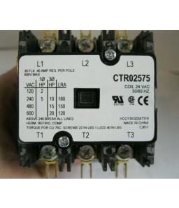 CONTATOR TRANE 30 AMP 24 VAC TRIPOLAR 50/60HZ X13070521010 HCCY3XQ02AT318 CONTATOR TRIPOLAR 30 AMP 24 VAC TRIPOLAR 50/60HZ X13070521010 HCCY3XQ02AT318